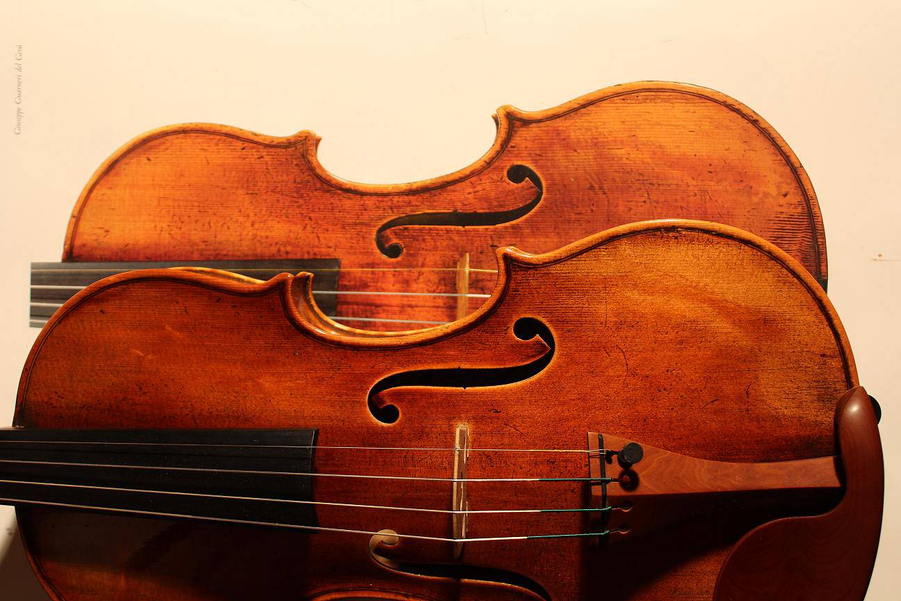 "A true imitation replica of the Guareri del Gesu ""King"" Violin"